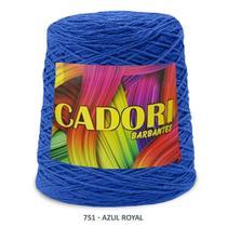 kit 3 Barbante Cadori N06 - 700m Azul Royal -