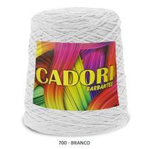 kit 3 Barbante Cadori N06 - 700m Branco -