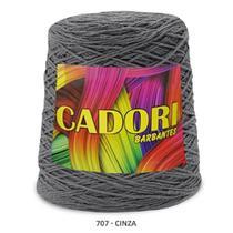 kit 3 Barbante Cadori N06 - 700m Cinza -