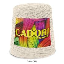 kit 3 Barbante Cadori N06 - 700m Cru -