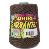 kit 3 Barbante Cadori N06 - 700m Marrom -