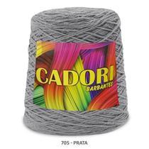 kit 3 Barbante Cadori N06 - 700m Prata -