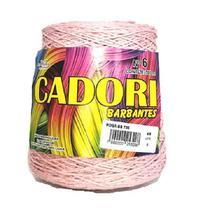 kit 3 Barbante Cadori N06 - 700m Rosa Bebê -