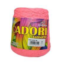 kit 3 Barbante Cadori N06 - 700m Rosa Neon -