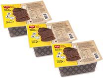 Kit 3 Bolo de Chocolate sem Glúten sem Lactose 200g Schar -