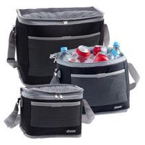 Kit 3 Bolsa Térmica Cooler 30 / 20 / 10 Litros Bebidas e Alimentos Praia - Paramount -
