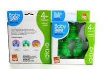 Kit 3 Brinquedos Infantis Bebê Banho Vinil Borracha Pato Sapo Macio Mordedor - Bee Toys