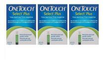Kit 3 Caixas Tiras Onetouch Select Plus 50 Un -