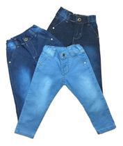 Kit 3 Calça Jeans Menino Central Kids - Centra Kids