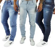 Kit 3 Calças Jeans Skinny - Daze Modas