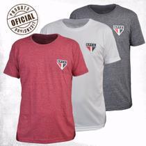 Kit 3 Camisas São Paulo Retrô Dry Treino - RetrôMania