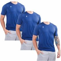 Kit 3 Camisetas Punnto Masculina Manga Curta Poliamida -