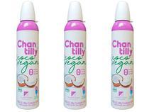 Kit 3 Chantilly de Coco Vegano Sem Glúten Klein Foods 240g -
