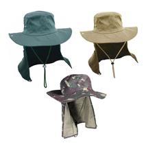 kit 3 chapeu australiano pesca com proteção nuca orelha jogá - Joga