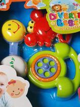 Kit 3 Chocalho Infantil Baby Divertido Sortidos Brinca Bebê Brinquedo infantil - Emporio Magazine