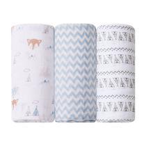 Kit 3 Cueiros Soft Premium Grande Raposa - Papi Baby -