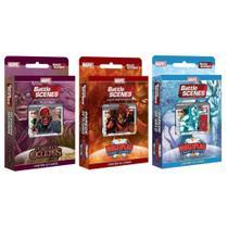 Kit 3 Decks Marvel Battle Scenes - Copag