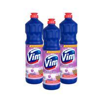 Kit 3 Desinfetantes Vim Multiuso Cloro Gel Lavanda 700ml -