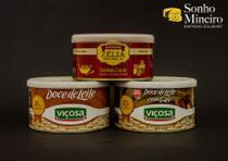 Kit 3 Doces Mineiros - Goiabada, Doce de Leite e Doce de Leite com Café - Sonho Mineiro Empório Gourmet