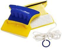Kit 3 Esponja Limpador de Vidro Magnético para Janela Vidraça Aquário Rodo Box Aquário Limpa Vidro Imã -