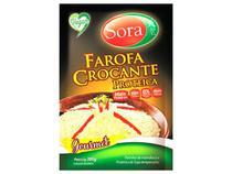 Kit 3 Farofa Crocante Proteica Vegana Sora 300g -