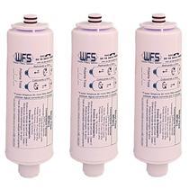 Kit 3 Filtro Refil para Purificador de Água Libell Acqua Flex - Wfs