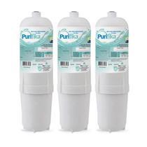 Kit 3 Filtro Refil Para Purificador De Água Soft By Everest - Plus, Star, Slim, Fit E Baby (todos) - Policarbom