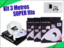 Kit 3 Fitas Magica Super Forte Lavável Dupla Face 1 M cada - M&C