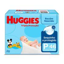 KIT 3 Fralda Descartável baby disney + toalha umidecida com 96- Huggies -