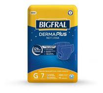 Kit 3 fralda geriatrica bigfral derma plus noturna g / 7 = 21 un - Bigral