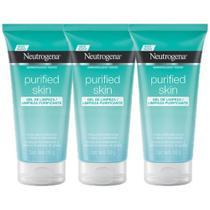 Kit  3 Gel de Limpeza Neutrogena Purified Skin 150g -
