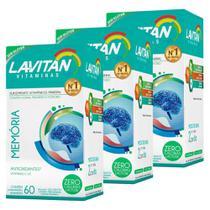 Kit 3 Lavitan Memória 60 comprimidos - Cimed