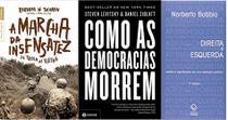 KIT 3 LIVROS A marcha da insensatez + Como as democracias morrem + Direita e esquerda - Bestseller