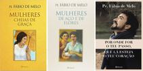 Kit 3 Livros De Sucesso - Padre Fábio De Melo - Relatos Do Mundo