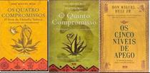 Kit 3 Livros Don Miguel Ruiz os quatros compromissos + o quinto compromisso + Cinco niveis de apego - Bestseller