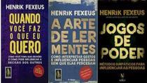 Kit 3 Livros Henrik Fexeus A Arte De Ler Mentes Jogos Poder - Bestseller