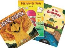 Kit 3 Livros Infantis - A árvore dourada + Rio Grinalda + Pássaro de Seda - Colli Books