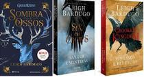 KIT 3 LIVROS Leigh Bardugo Sombra e Ossos + Six of crows Sangue e mentiras + Crooked Kingdom Vingança e Redenção - Planeta Minotauro