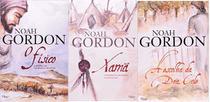 KIT 3 LIVROS NOAH GORDON O físico + Xamã: A história de um médico do século XIX + A escolha da Dra. Cole - Rocco