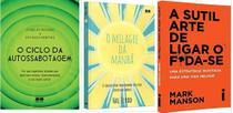 KIT 3 LIVROS O Ciclo da Autossabotagem + O milagre da manhã + A SUTIL - Bestseller