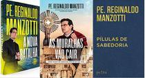 KIT 3 LIVROS PADRE Reginaldo Manzotti A nova batalha + As muralhas vão cair + Pílulas de Sabedoria - Petra