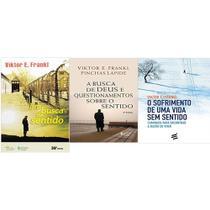 KIT 3 LIVROS Viktor E. Frankl Em Busca De Sentido + Busca de Deus e questionamentos sobre o sentido + O Sofrimento de Um - Vozes
