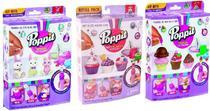 Kit 3 Massinhas Poppit (Coelhinhos + Cupcakes + Sorvetes) - Dtc
