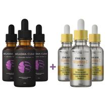 Kit 3 Melasma Clear e 2 Vitamina C Original - Mega Beleza