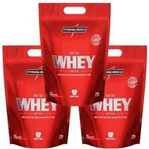 Kit 3 Nutri Whey Chocolate 900G Integral Medica