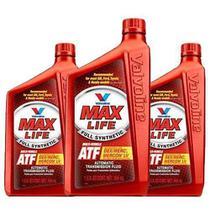 Kit 3 oleo cambio transmissao automatica maxlife atf sintetico valvoline mercon dexron 946 ml cada - kit00302 -