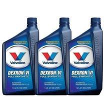 Kit 3 oleo cambio transmissao automatico valvoline dexron vi 6 946 ml cada - kit00338 -