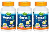 Kit 3 Ômega 3 Kids Infantil 500mg 60 Cápsulas - Unlife - Unilife
