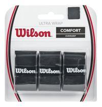 Kit 3 Overgrips Ultra Wrap Comfort Preto - Wilson -