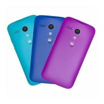 Kit 3 Packs de Tampa Colorida Original Moto G - Motorola